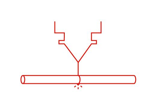 láser tubo