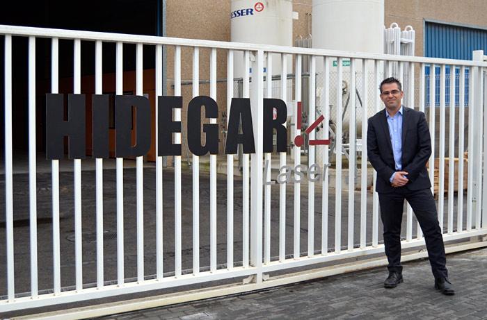 Jordi García Hidegar láser