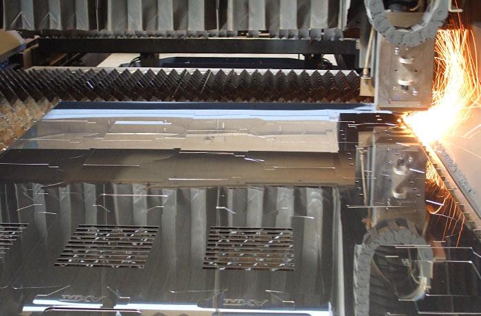 Maquinaria corte por láser