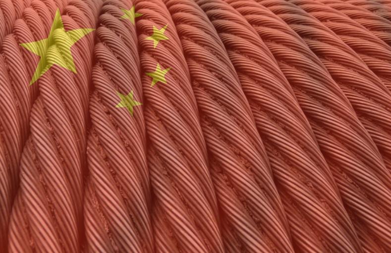 exportación acero chino