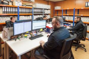 Oficina técnica programación y dibujo corte laser