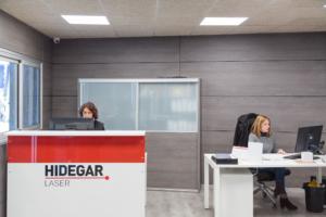 Instalaciones administración Hidegar Laser
