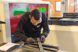 Verificación de piezas corte laser