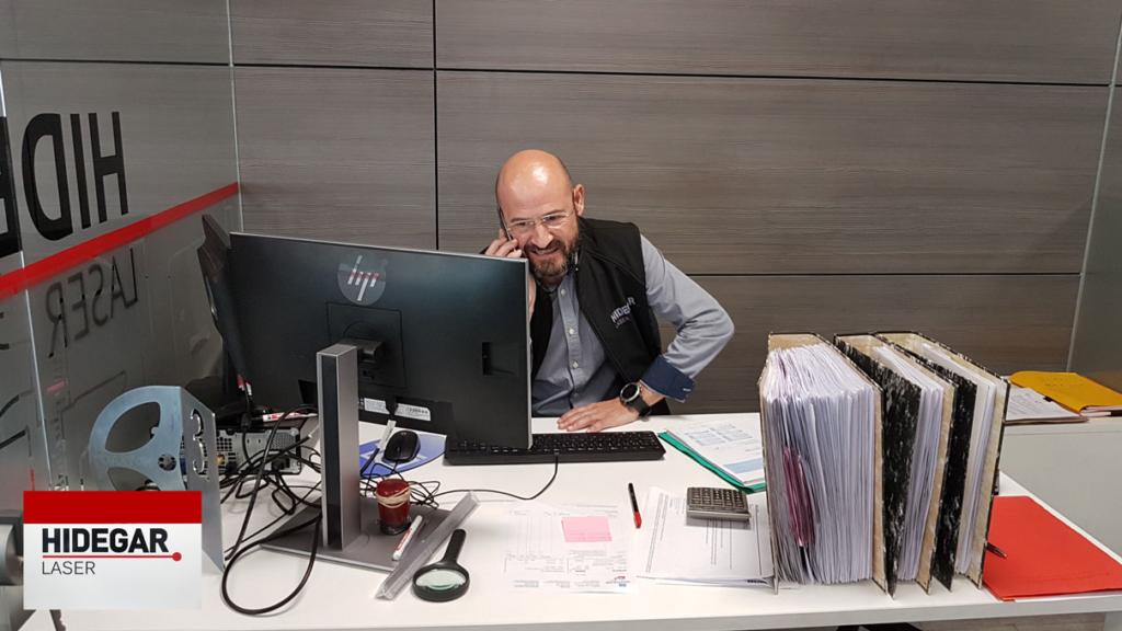 Carles Torrens – Responsable de Calidad Hidegar