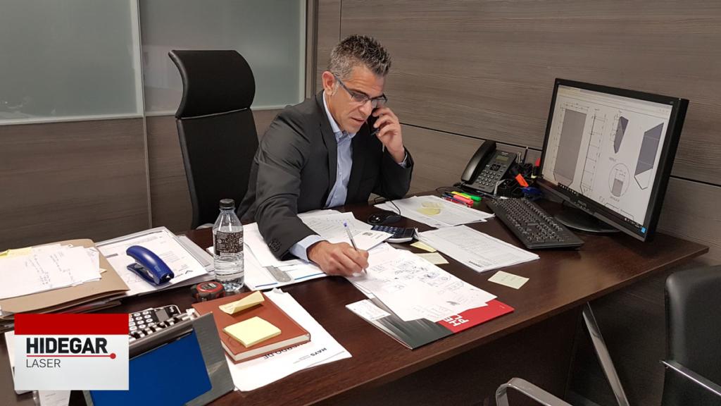 Jordi Garcia – CEO Hidegar Corte Laser