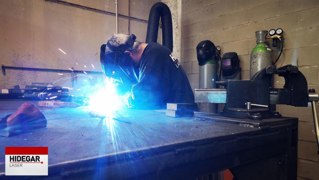Soldadura de piezas - Hidegar Laser