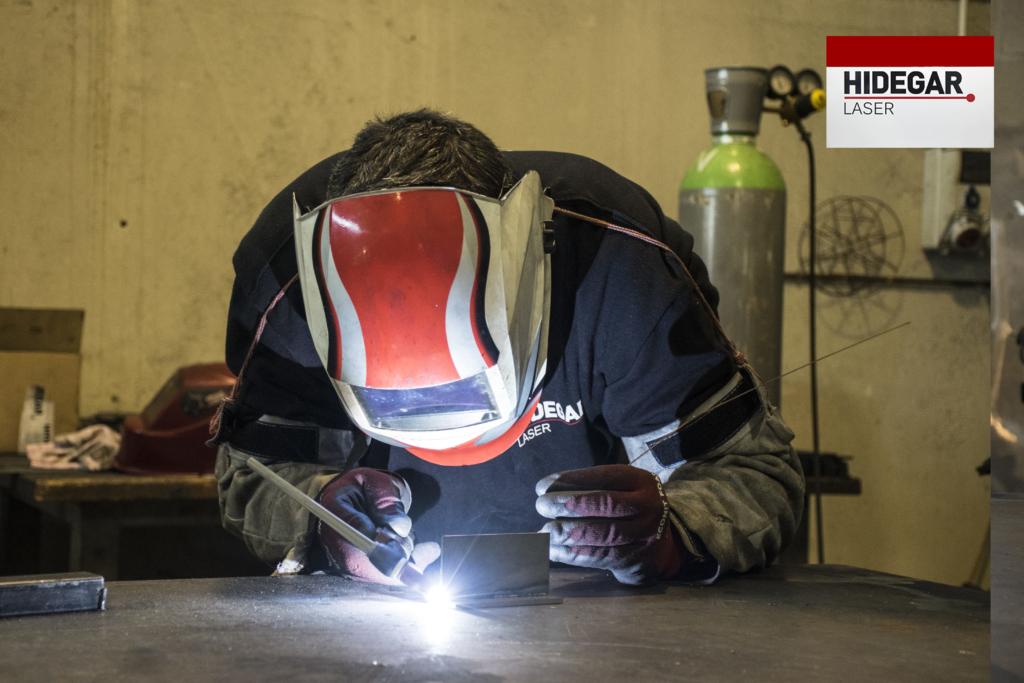 Proceso de la empresa Hidegar corte por laser