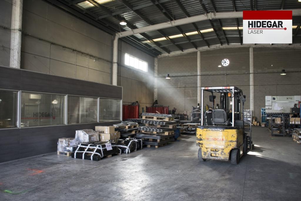 Maquinaria Hidegar Corte por laser