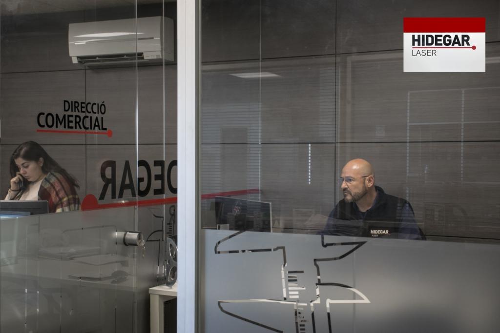Equipo humano Hidegar Corte por laser